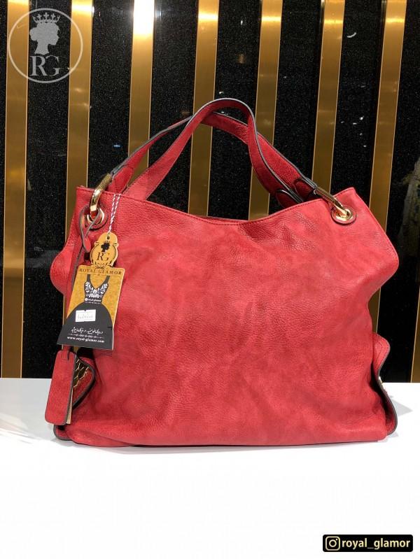 کیف رودوشی زنانه قرمز RG8803