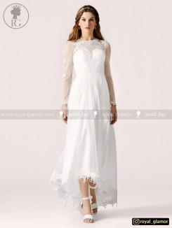 لباس عروس (استایل boho) رویال گلامور کد RG2802