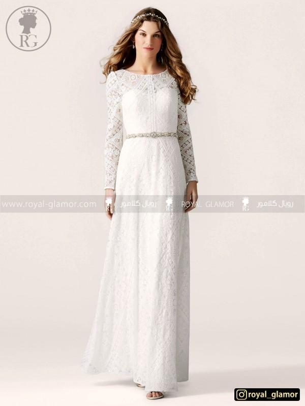 لباس عروس رویال گلامور کد RG2804