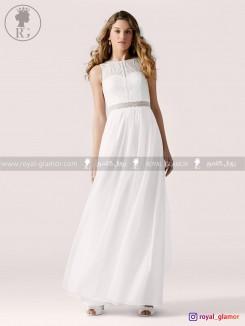 لباس عروس (استایل boho) رویال گلامور کد RG2806