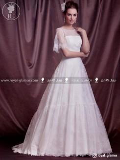 لباس عروس رویال گلامور کد RG2810