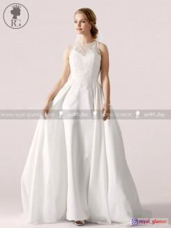 لباس عروس رویال گلامور کد RG2813
