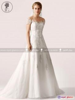لباس عروس رویال گلامور کد RG2814