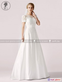 لباس عروس رویال گلامور کد RG2815