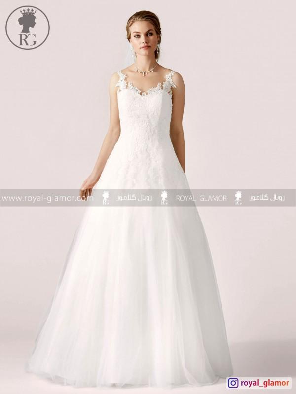 لباس عروس رویال گلامور کد RG2826