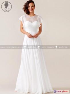 لباس عروس رویال گلامور کد RG2830