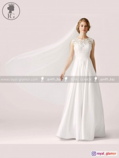 لباس عروس رویال گلامور کد RG2832