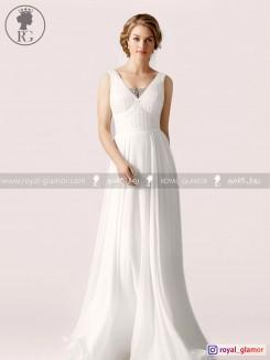 لباس عروس رویال گلامور کد RG2833
