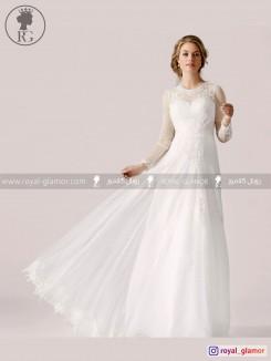 لباس عروس رویال گلامور کد RG2834