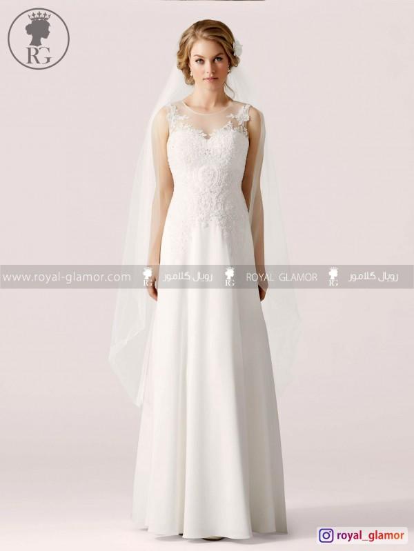 لباس عروس رویال گلامور کد RG2835