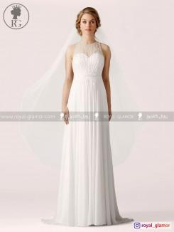 لباس عروس رویال گلامور کد RG2836