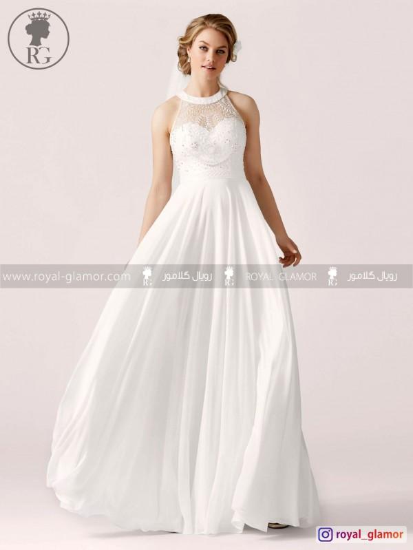 لباس عروس رویال گلامور کد RG2837