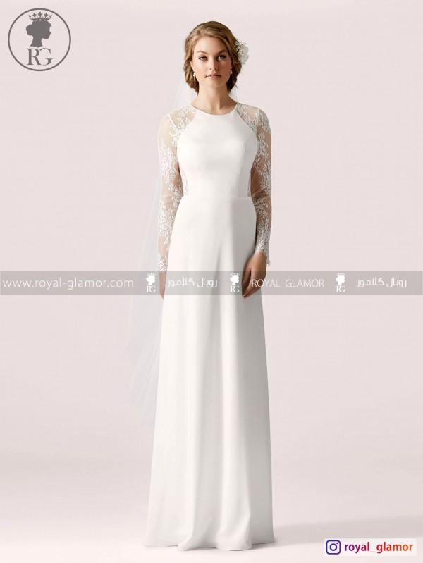 لباس عروس رویال گلامور کد RG2838