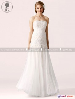 لباس عروس رویال گلامور کد RG2839