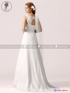 لباس عروس رویال گلامور کد RG2845