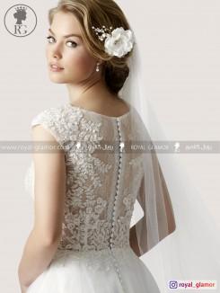 لباس عروس رویال گلامور کد RG2847