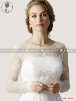 لباس عروس رویال گلامور کد RG2849