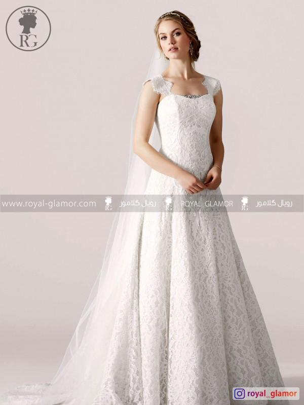لباس عروس رویال گلامور کد RG2854