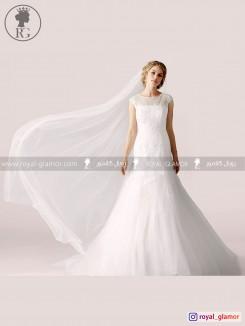 لباس عروس رویال گلامور کد RG2856