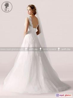 لباس عروس رویال گلامور کد RG2857