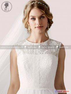 لباس عروس رویال گلامور کد RG2860