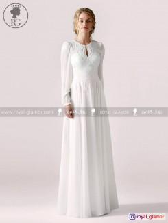 لباس عروس رویال گلامور کد RG2861