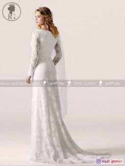 لباس عروس رویال گلامور کد RG2863