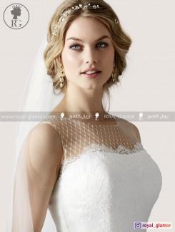 لباس عروس رویال گلامور کد RG2862