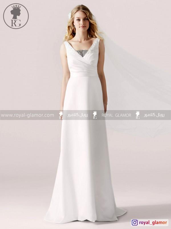 لباس عروس رویال گلامور کد RG2865
