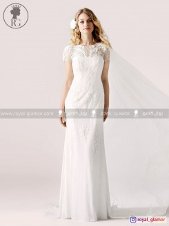 لباس عروس رویال گلامور کد RG2866