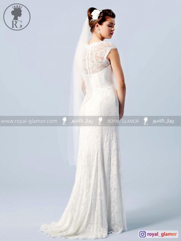 لباس عروس رویال گلامور کد RG2871