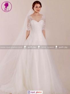 لباس عروس رویال گلامور
