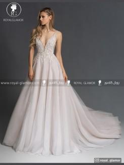 لباس عروس بلند دنباله دار