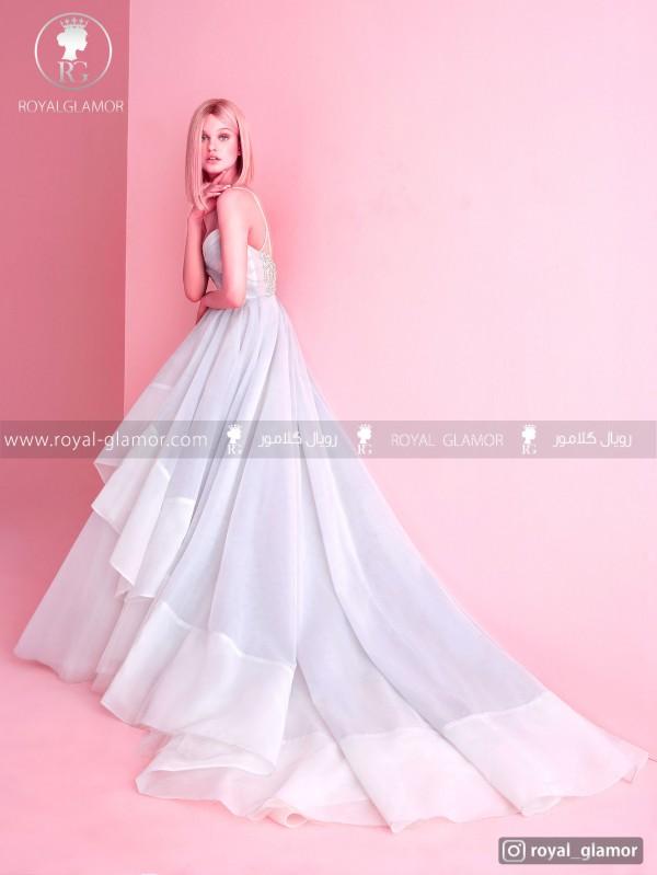 لباس عروس دامن پفی بلند