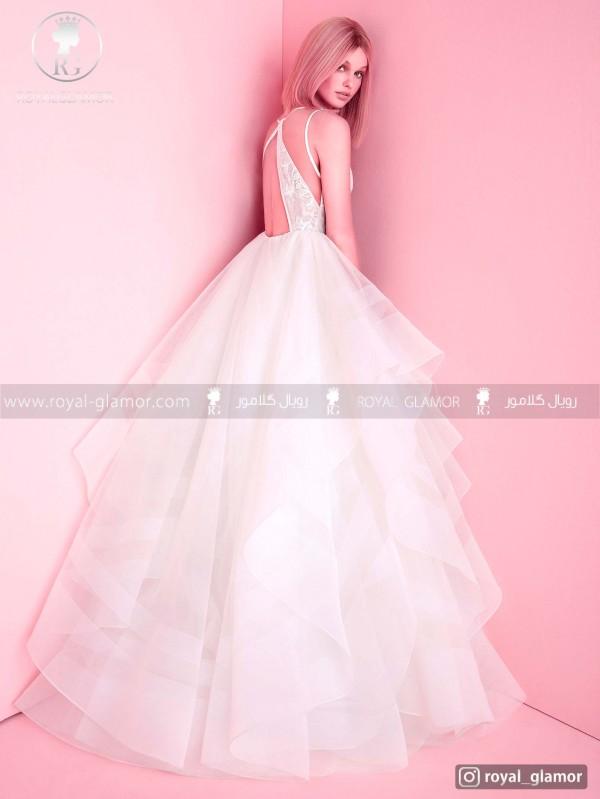 لباس عروس دامن بلند