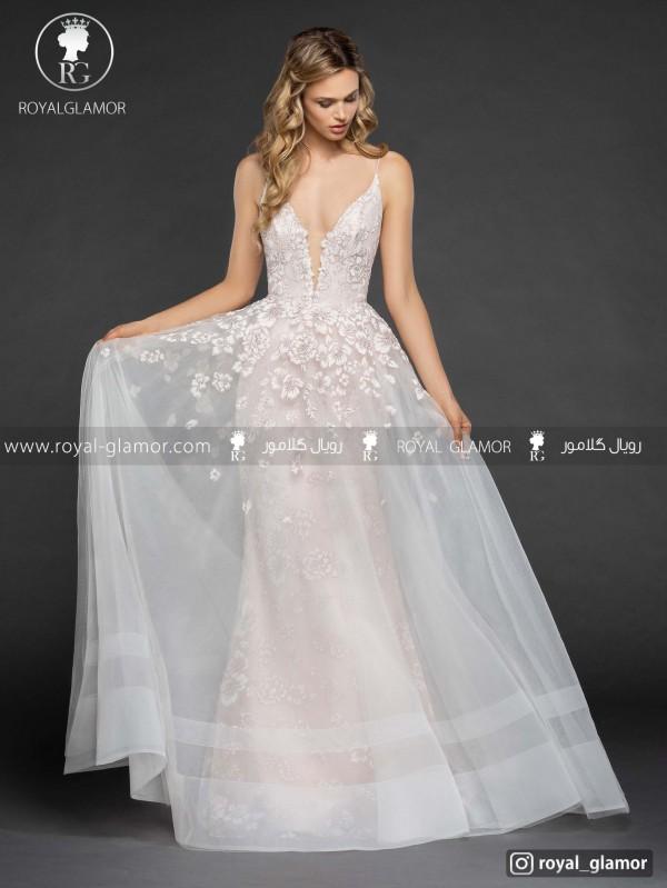 لباس عروس دو دامن جدید