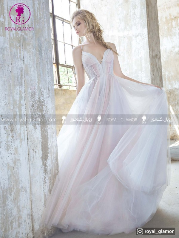 لباس عروس پر دار