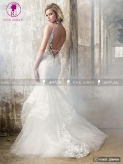 لباس عروس دامن کلوش