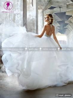 لباس عروس پفی جدید