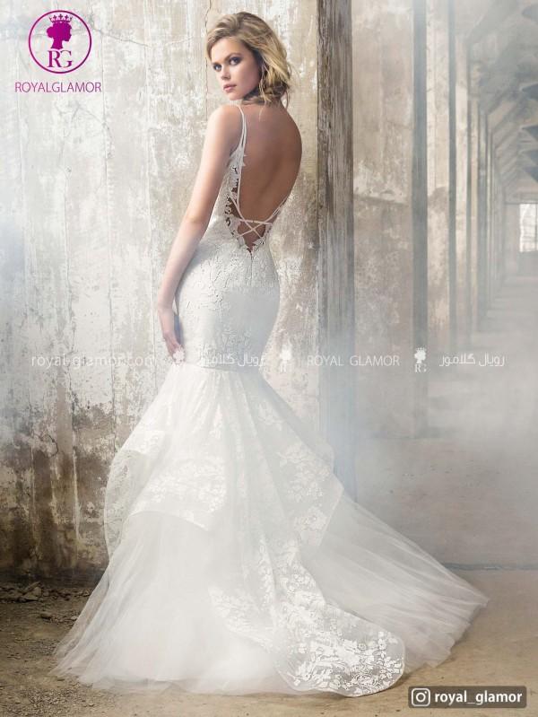 لباس عروس دو دامن