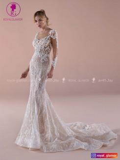 لباس عروس بلند اندامی