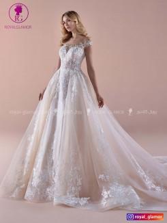 لباس عروس بلند دامن پفی