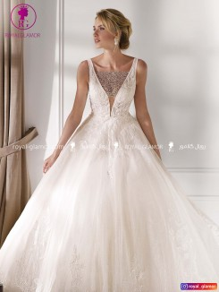 لباس عروس پرنسس شیک