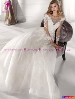 لباس عروس با دامن بلند