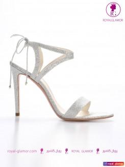 کفش عروسی نقره ای