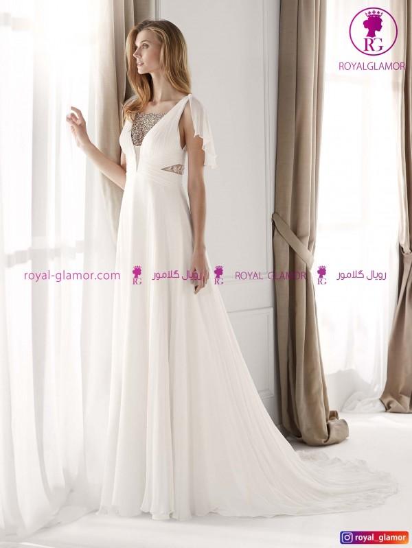 لباس عروس ساده بلند