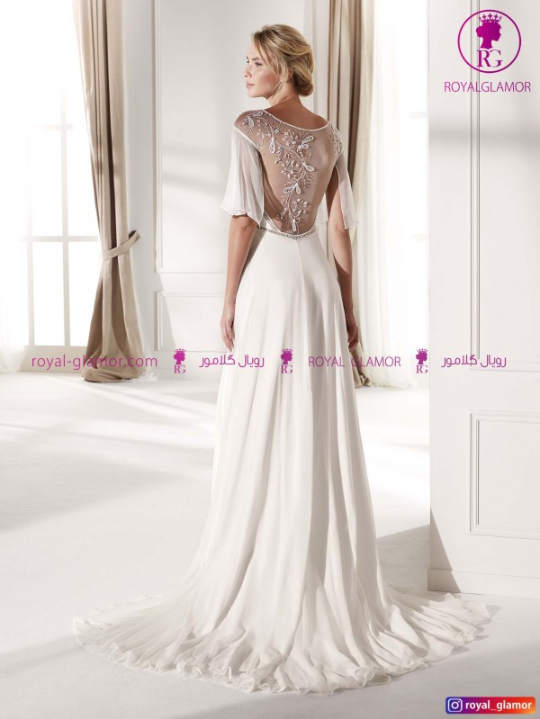 لباس عروس ساده جدید