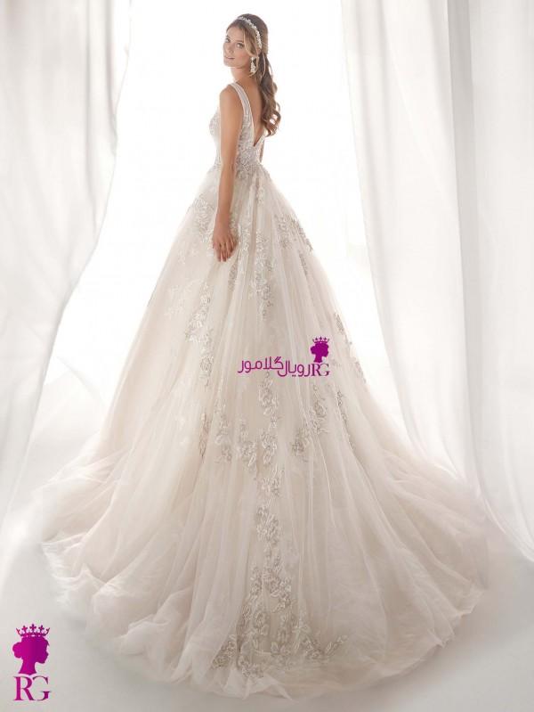 لباس عروس پفدار