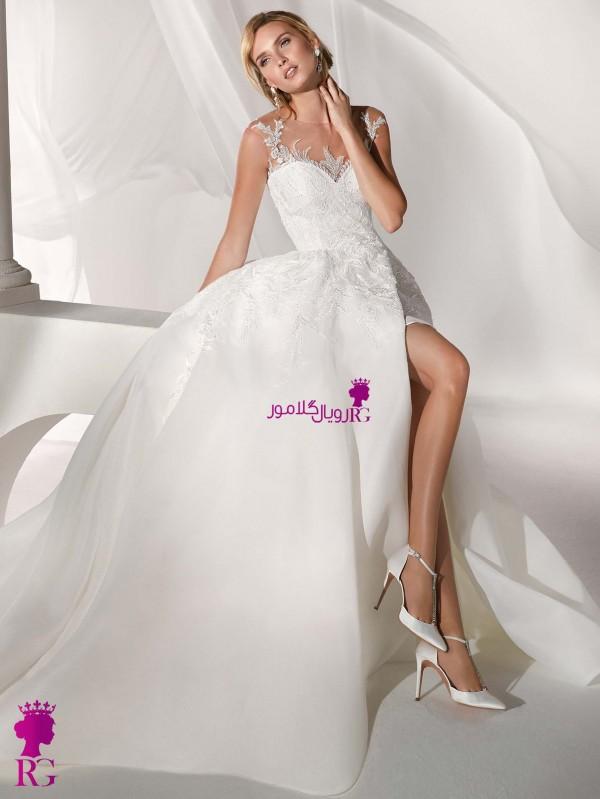 لباس عروس پفدار عید ۹۹