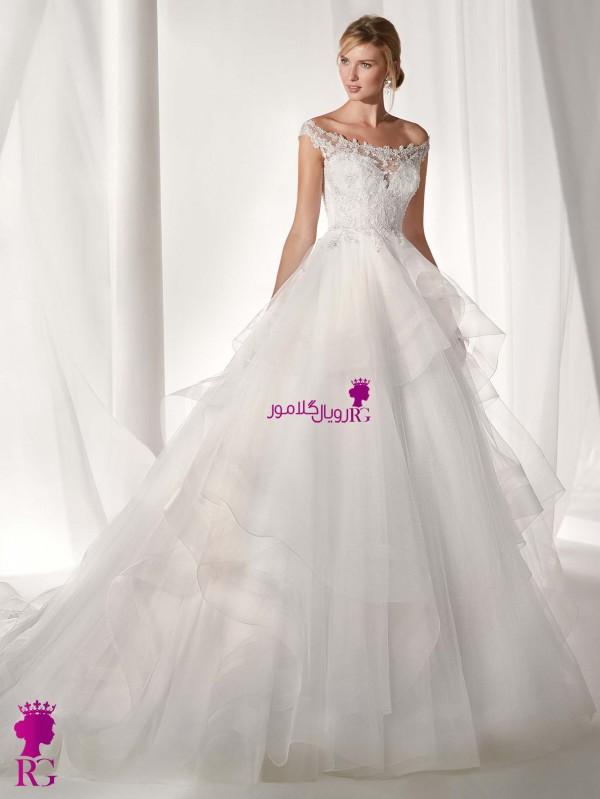 مدل لباس عروس پفدار 2020
